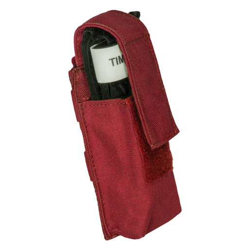*DROP SHIP ONLY* Base Tourniquet Single Covered Pouch, Red