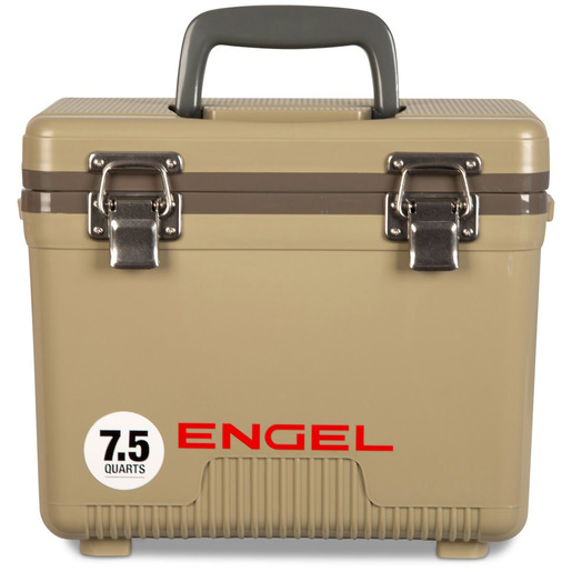 Engel® 7.5QT Drybox/Cooler, Tan