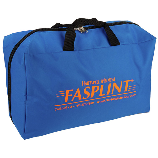 Fasplint Carry Case, Rectangular Style, Blue