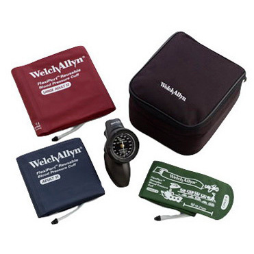 Tycos DS58 Platinum Series 3 Cuffs Hand Aneroid Sphygmomanometer, Size 9, 11 and 12