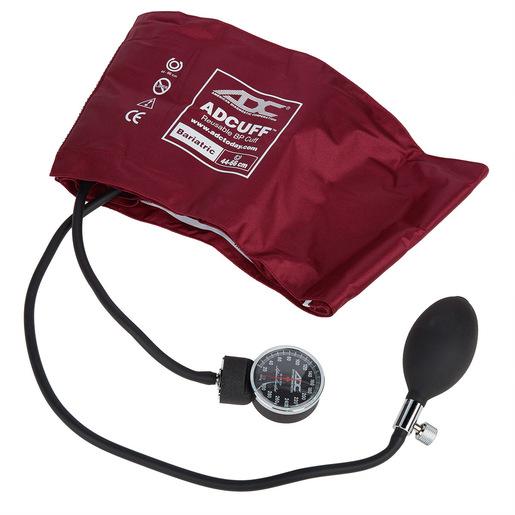 Diagnostix™ 720 Series Bariatric Aneroid Sphygmomanometer, Bariatric, Burgundy