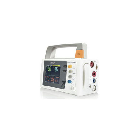 *Discontinued* IntelliVue MP2 Patient Monitor with ECG, RESP, NiBP, SpO2, Invasive Blood Pressure and Temperature