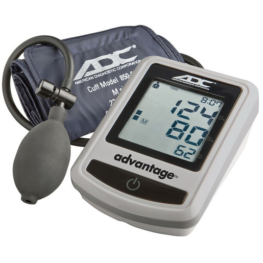Advantage™ Semi-auto Digital Blood Pressure Monitor, Navy, Adult 22 to 32cm