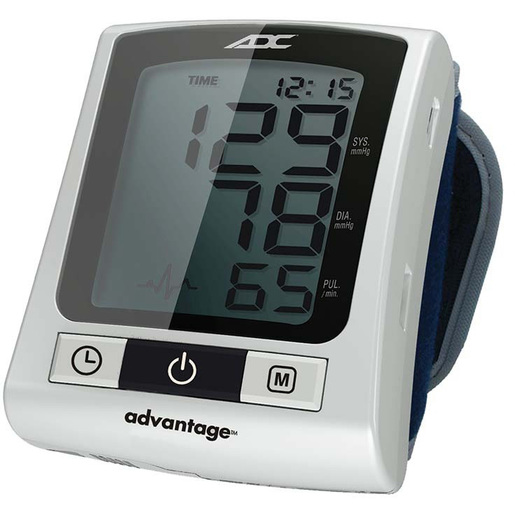 Advantage™ Ultra 6015N Wrist Digital Blood Pressure Monitor, Navy, Adult 13.5 to 19.5cm