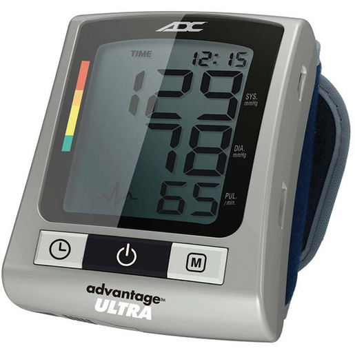 Advantage™ Ultra 6016N Wrist Digital Blood Pressure Monitor, Navy, Adult 13.5 to 19.5cm
