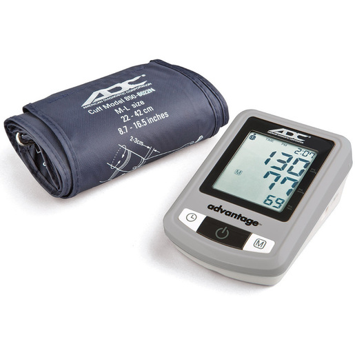 Advantage™ 6021N Automatic Digital Blood Pressure Monitor, Navy, Wide Range 22 to 42cm