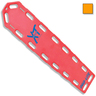 Pro-Lite® XT Spineboard, Orange, With Pins