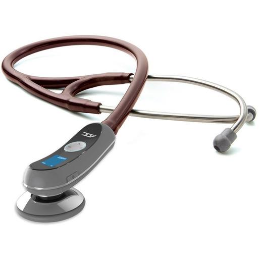 Adscope® 658 Electronic Stethoscope, Burgundy