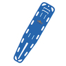 Ultra Loc Spineboard, Royal Blue, Without Pins