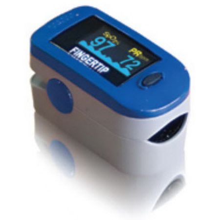 Fingertip Pulse Oximeter, Multi-Color