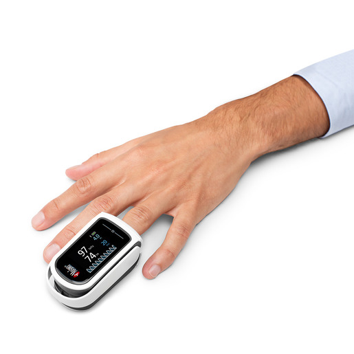 MightySat™ Rx Fingertip Pulse Oximeter, Bluetooth