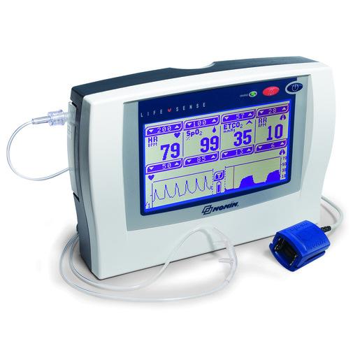 LifeSense® Capnograph/Pulse Oximeter