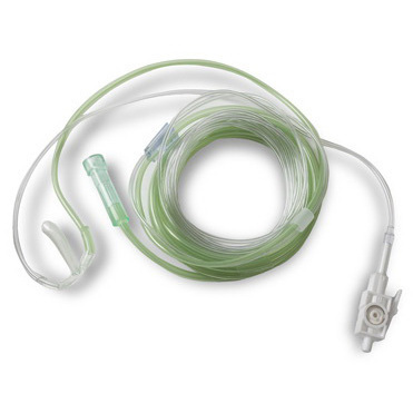 LoFlo™ ETCO2 SideStream Oral/Nasal CO2 With O2 Cannula, Adult