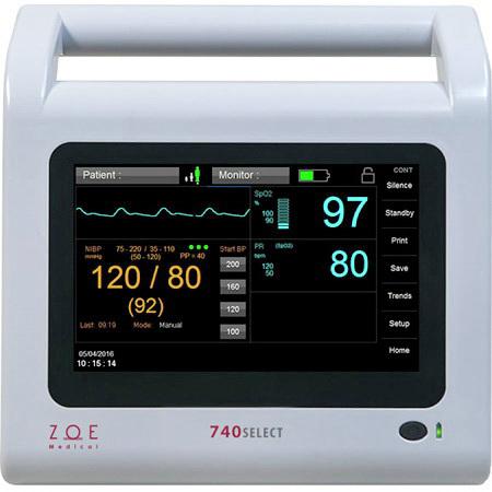 740SELECT™ Defibrillator Monitor with MAXNIBP®, Nellcor™ SpO2 Configurations