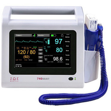 740SELECT™ Defibrillator Monitor with MAXNIBP®, Masimo® SpO2, Filac™ TEMP Configurations