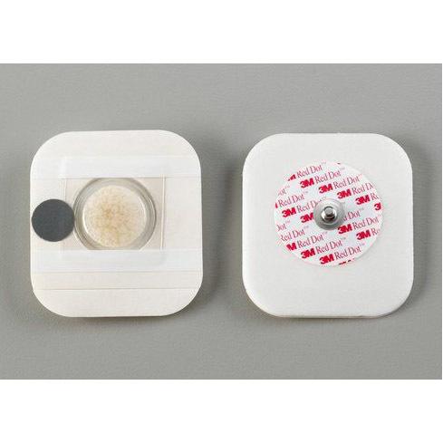 3M™ Red Dot™ Diaphoretic Foam Monitoring Electrodes