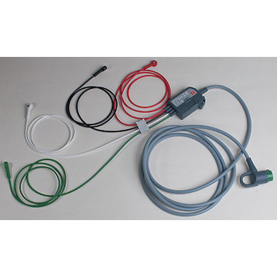 ECG Trunk Cable, 5ft L, 4 Wire Limb Leads