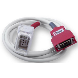 Cable, Connects to LNCS Sensors, 4ft L, Red