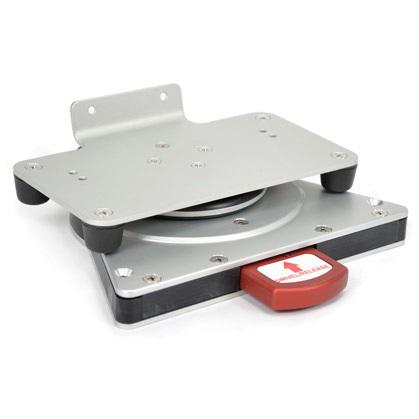 Swivel Defibrillator Mount D.360 Model, 1.5in H x 7.57in W x 7.09in D Swivel Base