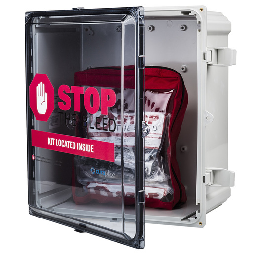Curaplex® Stop the Bleed® Cabinet, Polycarbonate