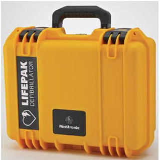Carry Case for LifePak CR Plus, Hard Shell, Water-Tight