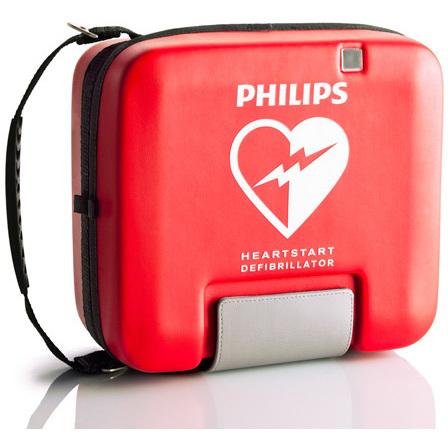 HeartStart® FR3 System Case, Soft, Red
