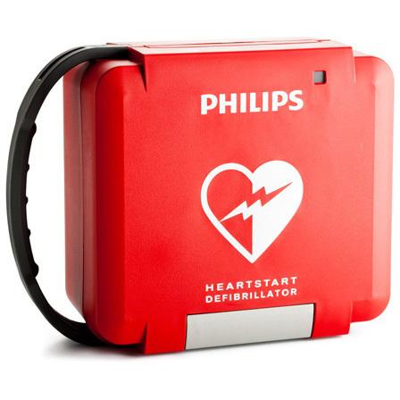 HeartStart® FR3 Rigid System Case, Red