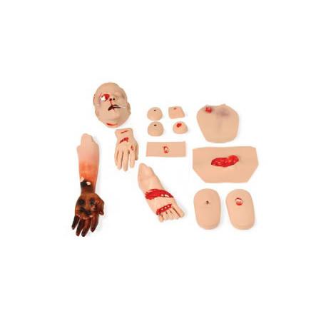 Trauma Module Set, To Fit First Aid Training Manikin