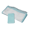 Fluff Underpad, 23in x 24in, Blue Polypropylene Backing