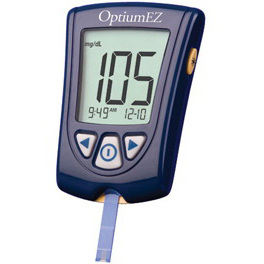 Optium EZ Blood Glucose Monitoring Kit, 0.6μL Sample Volume