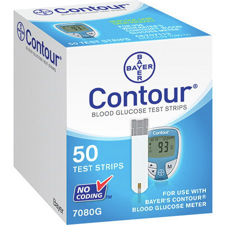 *Discontinued* Ascensia Contour Test Strips