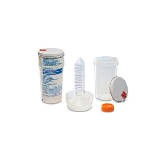 Precision™ Sputum Collection Kit, Plastic Tube Sterile, 50mL