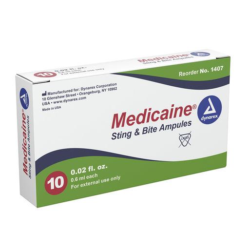 Medicaine Sting and Bite Swab, 6cc