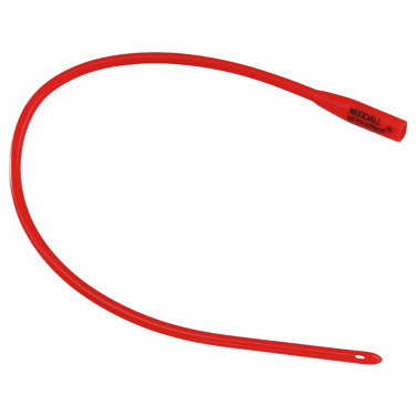 Dover™ Red Rubber Urethral Catheter, 16fr