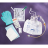 Two Layer Foley Catheter Tray with Drain Bag, 10mL, 16fr