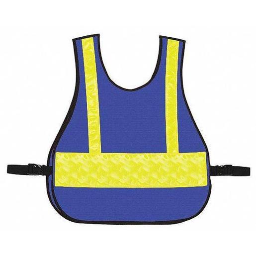 Large Command Vest, Safety, Royal Blue