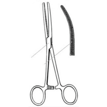 Curved Rochester Pean Forceps, 8.5in