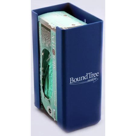 *Limited Quantity* Glove Box Dispenser, 10.06 H x 5.8 W x 4.07in D, Blue, Sintra® Plastic