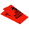 *Discontinued* Loc-Top® Biohazard Waste Bag, Red, 12in x 15in