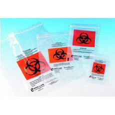 TransVelope Biohazard Specimen Bags with Documentation Pocket, 6in x 9in