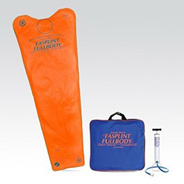 Fasplint Fullbody Vacuum Splint with Semi-Disposable Mattress, Compact Pump, Carry Case