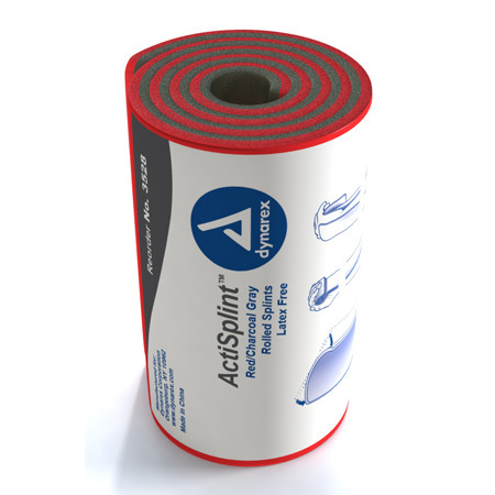 ActiSplint, Moldable, Rolled, Red, 4.25in x 36in
