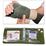 FastSet-3 Moldable Utility Splint, 3in L x 12in W, Olive Drab/White