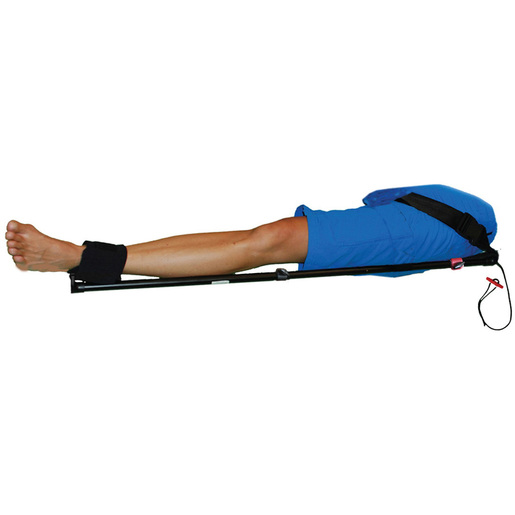Slishman Traction Splint with Telescoping Aluminum Poles, One Size Fits All