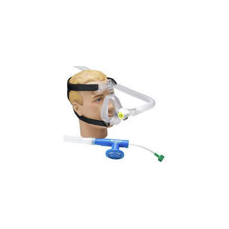 *Discontinued* O2-RESQ™ BiTrac ED™ Full Face Mask with Head Strap, CPAP 5m Valve, Adult Large