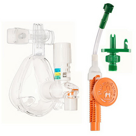 *Discontinued* O2-MAX™ Fixed Flow CPAP System with 3-SET™ O2-CPAP Valve, Chemtron Quik-Connect, Adult Medium