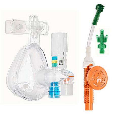 O2-MAX CPAP System with Integrated Nebulization