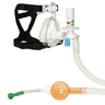 O2 MAX Guard for BiTrac ED Mask, w/ Neb, Adult MED, w/3-SET Valve Filter