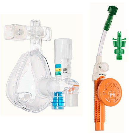 O2-MAX Trio CPAP System with Integrated Nebulization