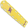 Pro-Lite® XT Spineboard, Neon Yellow, With Pins